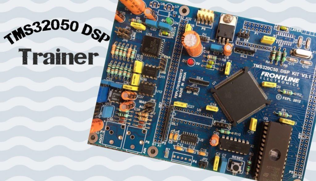 TMS320C50 DSP Trainer