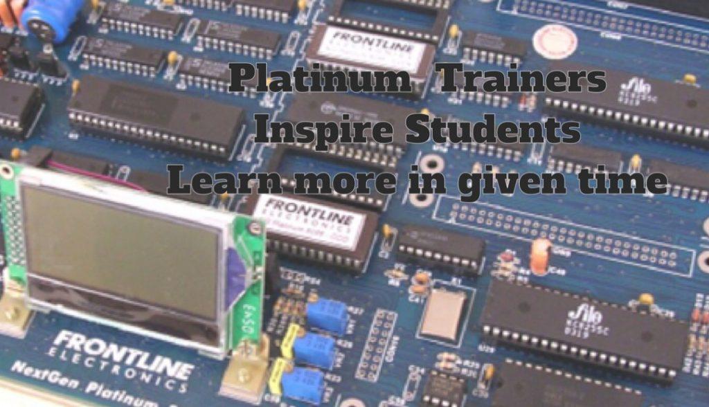 Concept of Platinum Trainers.