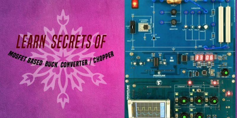 FEPET08-MOSFET Based DC-DC Buck Converter/ Chopper